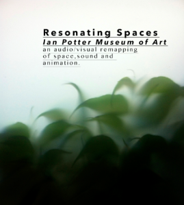 an audiovisual remapping of the space of responses to The Ian Potter Museum of Art